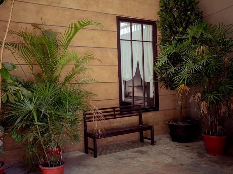 A區 庭院深深 攝影棚實景